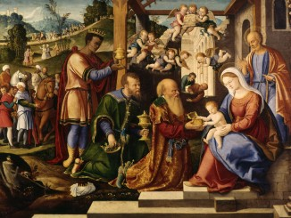 Girolamo_da_Santacroce_-_The_Adoration_of_the_Three_Kings_-_Walters_37261_(2)