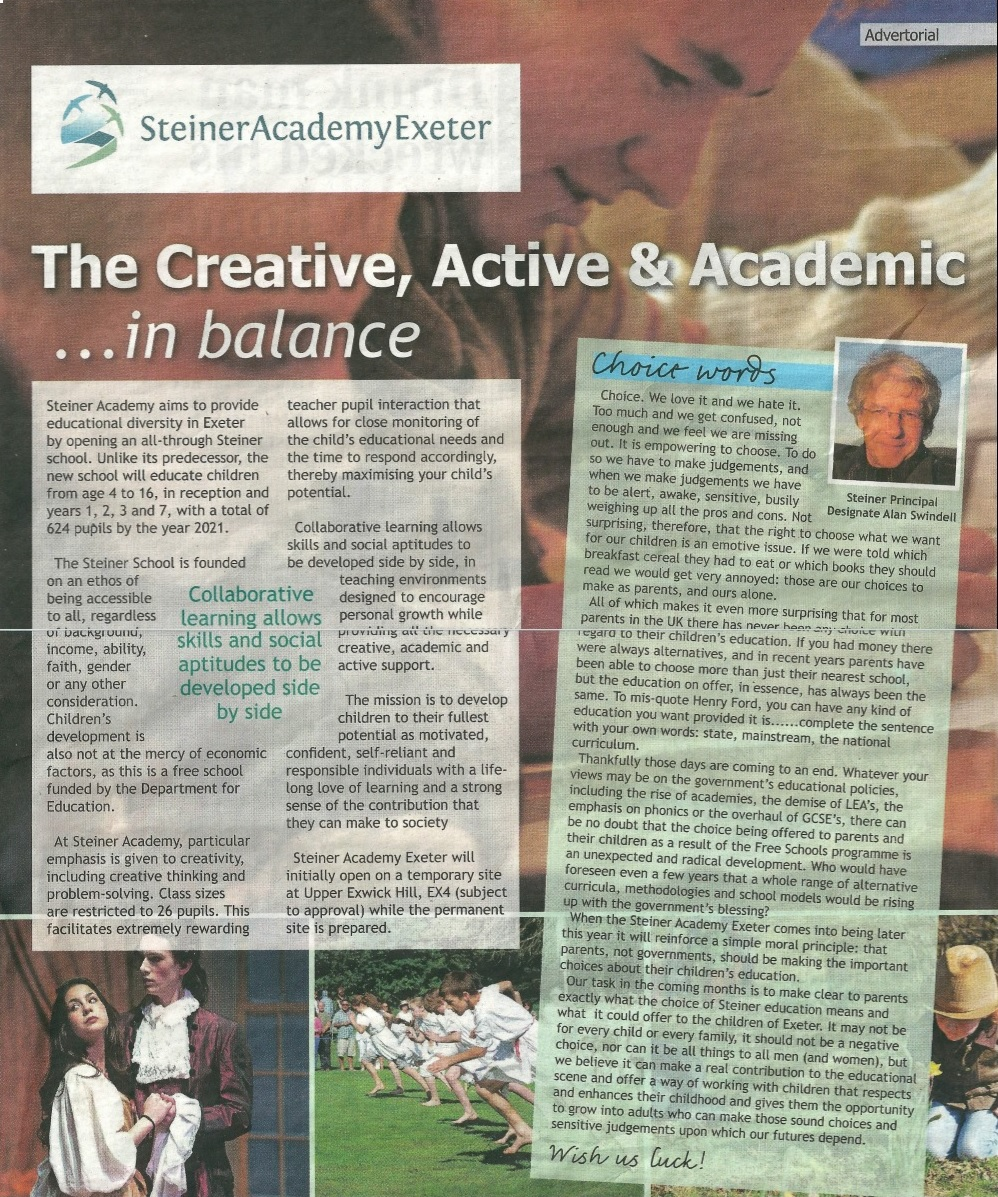 Steiner Academy Exeter Misleading Choices The Quackometer Blog Peachykeenamh 6 Years Ago Reply Express Echo Steineracademyfromead