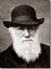 Charles Darwin looking rather sad at Dana Ullman